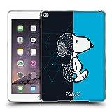 Head Case Designs Offizielle Peanuts Snoopy Geometrisch Halbzeiten Und Gelächter Soft Gel Hülle für iPad Air 2 (2014)