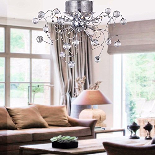 Dans Crystal Chandelier Le Meilleur Prix es Amazon Savemoney Modern 54R3qScAjL
