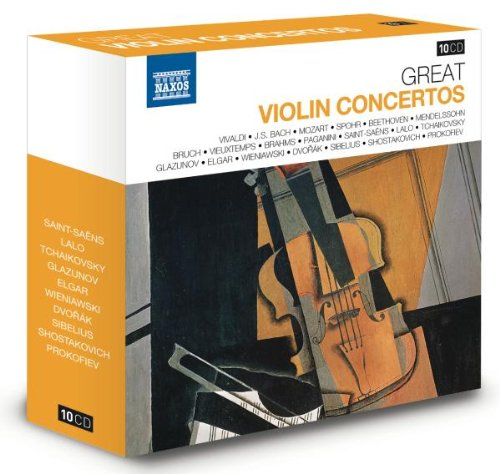 Große Violinkonzerte - Naxos Jubiläumsbox