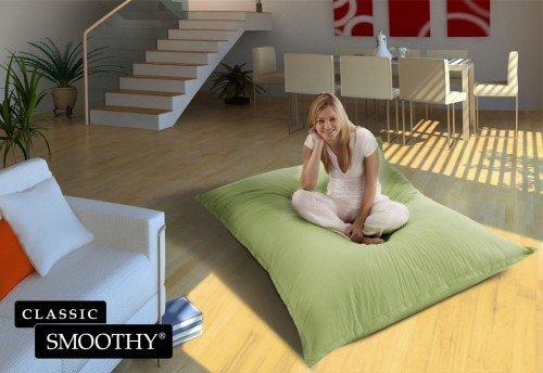 Unbekannt Smoothy XXL Classic Sitzsack in Grün