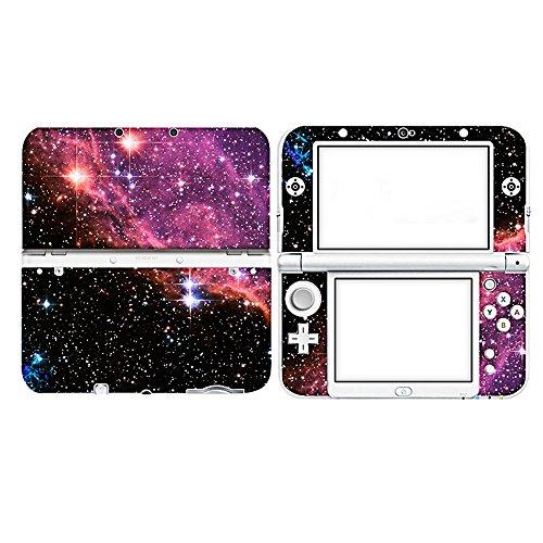 Skin Sticker for Nintendo New 3DS XL,Sopear Mini Tragbare Spielmaschine Aufkleber Set Game Controller Abdeckung Haut Dekoration Zubehör für Nintendo Neue 3DS XL Host Stil D