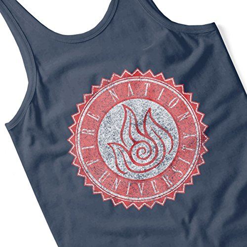 Fire Nation Univeristy Avatar Women's Vest Navy blue