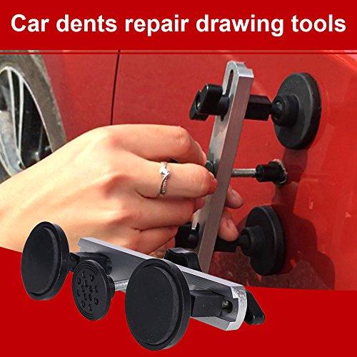 Sedeta® Auto Panel Dent Remover Lifter Puller Überbrücken PDR Paintless-Reparatur-Werkzeug mit Schraube Werkzeugsatz zum Entfernen von Dellen reparieren (Kühlschrank-panel-kits)
