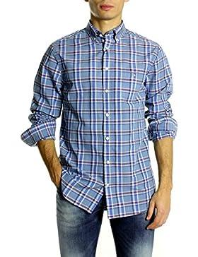 Camisa Gant Cuadros Indigo Azul