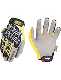 Mechanix The Original Paire de Gants, Noir/Jaune, XXL