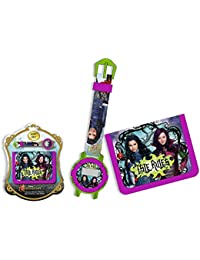 Disney - Disney WD16747 Gift Set Descendants wallet + Digitaluhr
