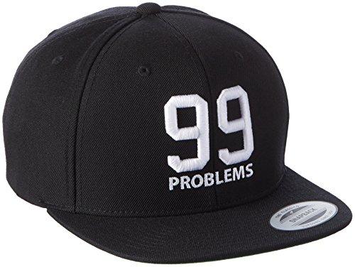 Black Tee Cap (Mister Tee Herren 99 Problems Cap Kappen, Black, one size)