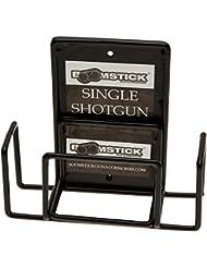 Boomstick Gun Accessories Boom-10022 Mount Anywhere Single Shotgun Rifle Vinyl Coated - Armero para armas de caza, color negro