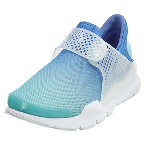 reputable site 3913c 27145 Nike Mujeres Sock Dart BR Running 896446 Sneakers Turnschuhe (UK 8.5 US 11  EU 43, Still Blue White 400)