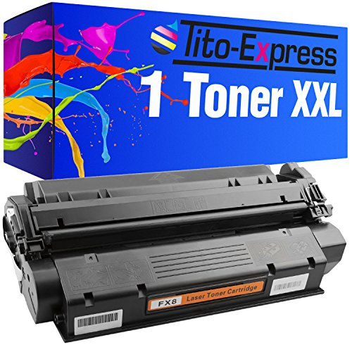 1x Toner-Patrone XXL Schwarz für Canon FX-8 I-Sensys Fax L380 L380S L390 L400 PlatinumSerie
