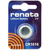 Renata sWISS cR1616 pile au lithium 3 v