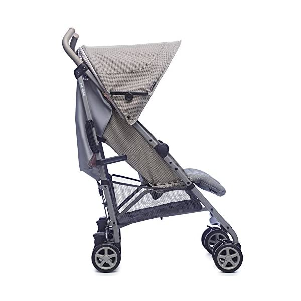 Easywalker Buggy Milano Melange  Suitable from birth 5 point 3 position harness Four recline positions with near flat recline 4