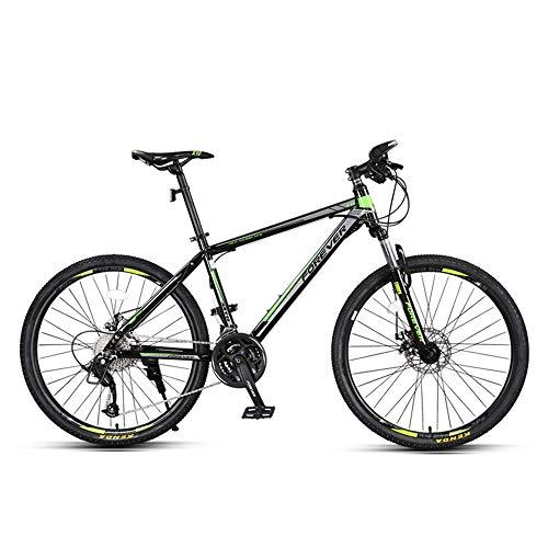AI CHEN Mountainbike Fahrrad Renngeschwindigkeit Offroad Doppelscheibenbremsen Stoßdämpfer Student Erwachsener Erwachsener 27-Gang 26 Zoll
