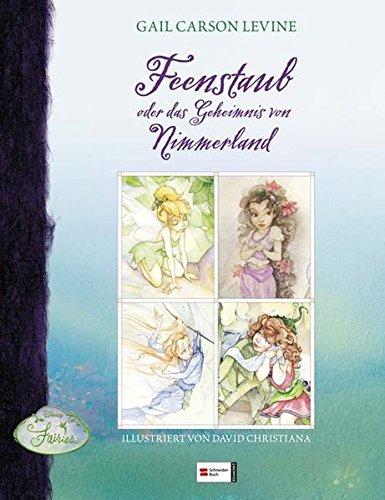 Disneys Fairies, Feenstaub oder das Geheimnis von Nimmerland Buch-Cover
