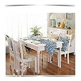 JUNYZZQ Blatt Tischfahne Restaurant Modell Zimmer Stoff Dekoration Couchtisch Flagge Möbel Shop Bettfahne Amerikanisches Land Bett Handtuch, 32X200 cm