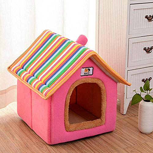 DWZ Invierno Pet Nest extraíble Lavable caseta Gato