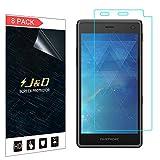 J & D [8er Set] Fairphone 2 Display Schutzfolie, Premium HD-Clear Schutzfolie für Fairphone 2