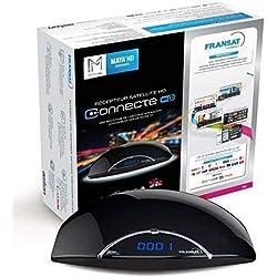 ASTON - Maya HD Fransat Récepteur TNT Decodeur Satellite - + Fransat Carte + HD / USB / HDMI / MPEG4 / Full HD / 1080P
