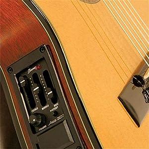 Ibanez GA5TCE-AM – Chitarra da concerto a spalla mancante e riproduttore di suoni, colore: Ambra con finitura lucida