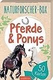 Naturforscher-Box - Pferde & Ponys: mit 50 Karten