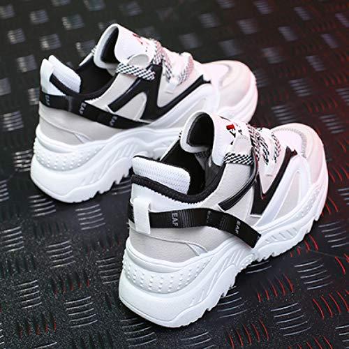 9e48a865 LKNGM Crossbody Femminile New Spring Donna Sneakers Scarpe 2019 Fashion  Mesh Donna Casual Scarpe Lace-
