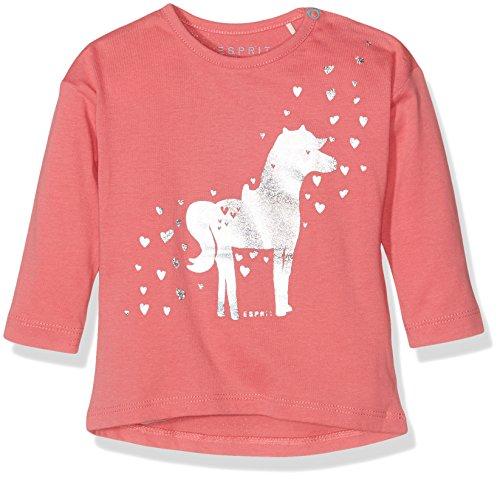 Esprit Kids Baby-Mädchen T-Shirt, Rosa (Pink 670), One size (Herstellergröße: 68)