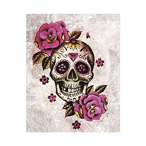 MRULIC Halloween 5D Stickerei Gemälde Strass Eingefügt DIY Diamant Malerei Kreuzstich (25x30cm, C-Mehrfarbig)