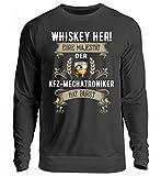 Hochwertiger Unisex Pullover - Whiskey her! KFZ-Mechatroniker hat Durst