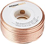 AmazonBasics 16-Gauge Speaker Wire 1.3 mm² - 30.48 m (100 feet)
