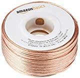 AmazonBasics - Cable para altavoces (calibre 16, 2x1,3 mm², 30,5 m)