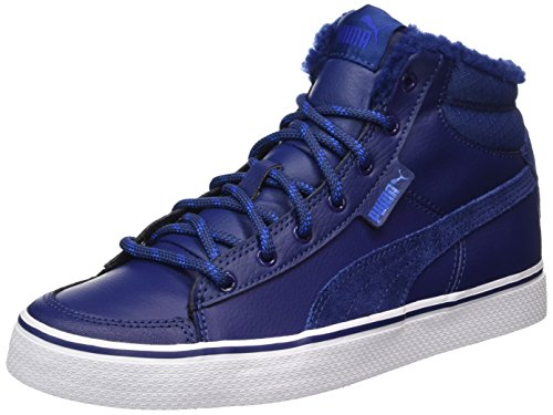 Puma 1948 Mid Vulc Winter, Baskets Hautes Mixte Adulte Bleu (Blue Depths-lapis Blue)