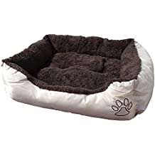Cleanwizzard - Cama para animal doméstico (mullida, lavable) M - 61 x 48