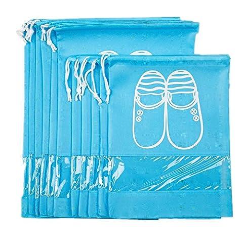YOXI UK , Sac de rangement pour chaussures bleu bleu L