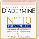 Diadermine N°110 Hochleistungs-Anti-Age Nachtcreme, 1er Pack (1 x 50 ml)