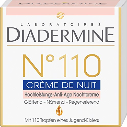 Diadermine N°110 Hochleistungs-Anti-Age Nachtcreme, 1er Pack (1 x 50 ml) -