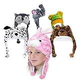 Kinder Mütze mit verschiedenen Tiermotiven (Dalmatiner)