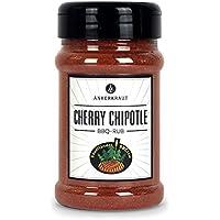 Ankerkraut Cherry Chipotle, 220g im Streuer, BBQ-Rub Grillmarinade, Gewürzmischung mit Kirschpulver zum Zubereiten von Schwein und Geflügel