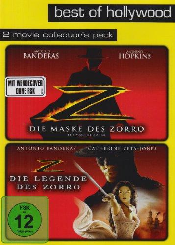 Die Maske des Zorro / Die Legende des Zorro - Best of Hollywood/2 Movie Collector's Pack [2 (Zorro Masken)