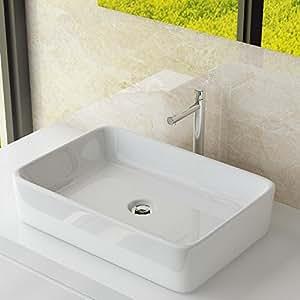 design keramik waschtisch aufsatzwaschbecken handwaschbecken bad g ste wc top a97. Black Bedroom Furniture Sets. Home Design Ideas