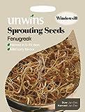 Unwins Pictorial paquete–Semillas germinadas semillas Fenugreek–1600semillas
