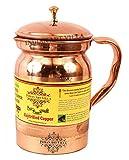 Indian Art Villa 8.5 X 4.3 Pure Copper J...