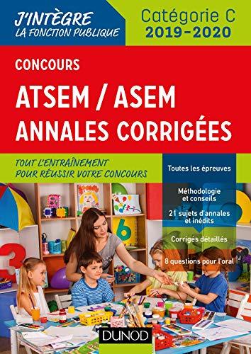 Concours ATSEM/ASEM - Annales corrigées - Concours 2019-2020 par  Corinne Pelletier
