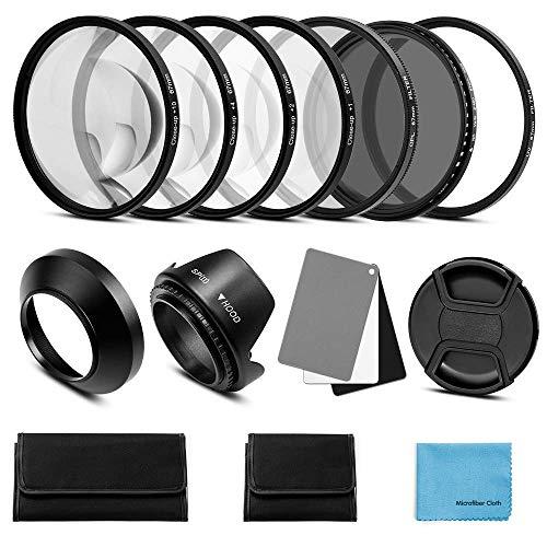 Close UP Filter Metal Lens Set Lens Hood