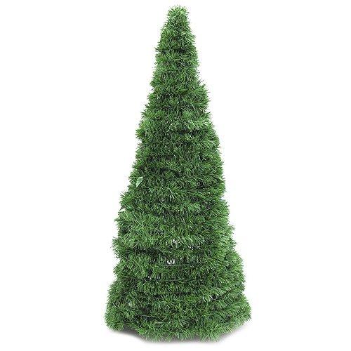 Europalms - Abete artificiale a forma di cono, altezza 150 cm, verde, 180 cm