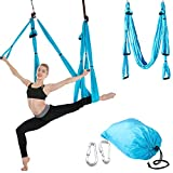 Balight Anti-Gravity Yoga Hamaca Yoga Flying Swing Dispositivo de tracción aérea Pilates Body Shaping Yoga Hamaca Trapeze Sling 1 pcs