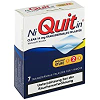 Preisvergleich für Niquitin Clear 14 mg transdermale Pflaster, 7 St