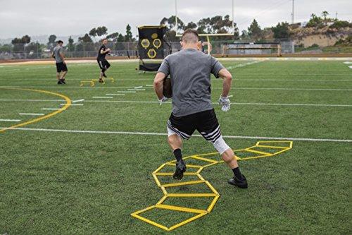 SKLZ Agility Trainer Pro-Einfaches Trapez Agility Trainer. Set von 10 -