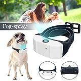 SAFETYON Smart Electric Hund Bellen Halsband Wiederaufladbaren Verstellbare Nebel Spray Spray Collar Hundehalsband