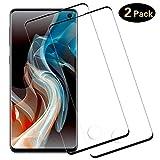 DOSMUNG [2 Pack Vetro Temperato per Samsung Galaxy S10, Pellicola Vetro [9H Durezza] [Curva 3D] [Copertura Completa] [Alta Definizione]...