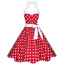 Suchergebnis auf Amazon.de für  rotes kleid mit weißen punkten - Mit ... 87a2b7c272